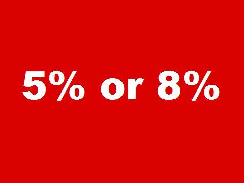 平成26年3月末に払う4月分賃料の消費税は 5%? 8%?