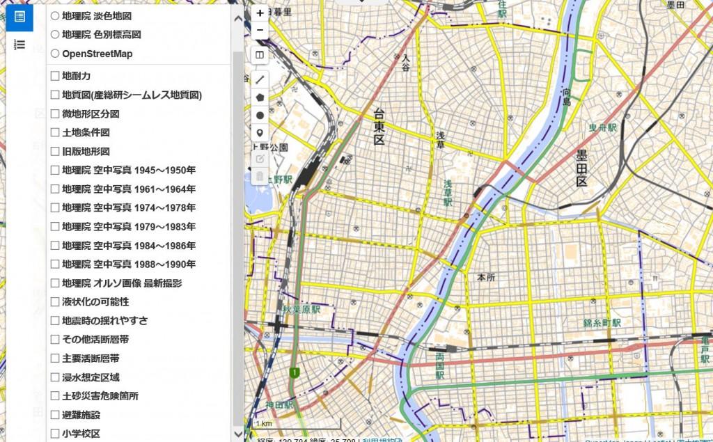 地盤サポートマップ スクリーンショット-1