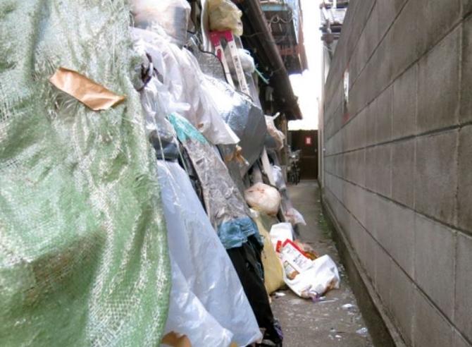 ゴミ屋敷 私有地では初の強制撤去
