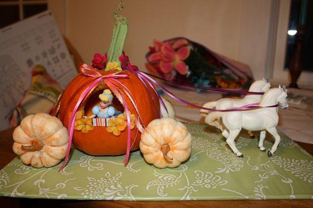 かぼちゃのロウソク