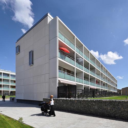 コペンハーゲンの住宅